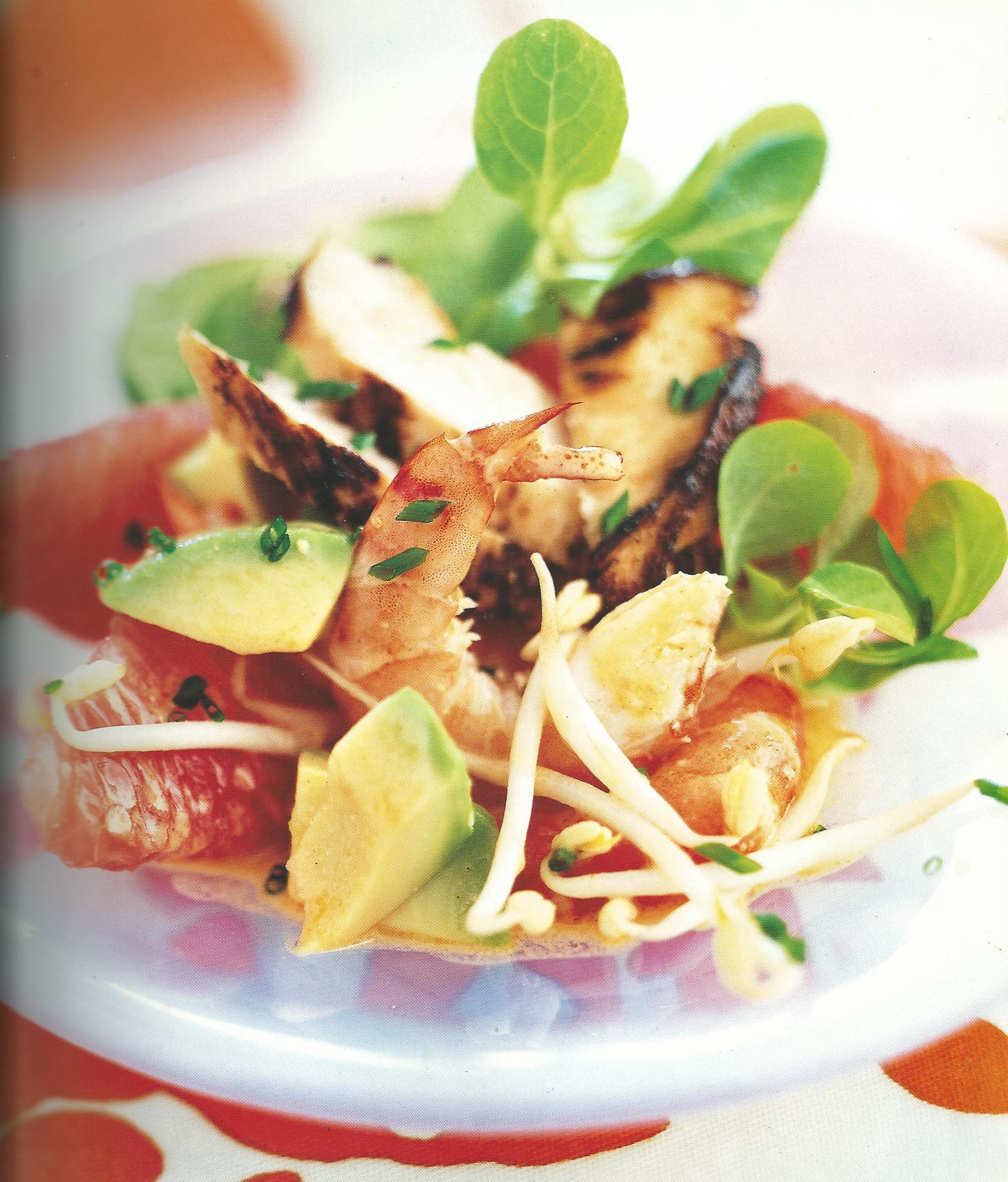 Recette de la salade de poulet mariné