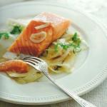 Le saumon au fenouil