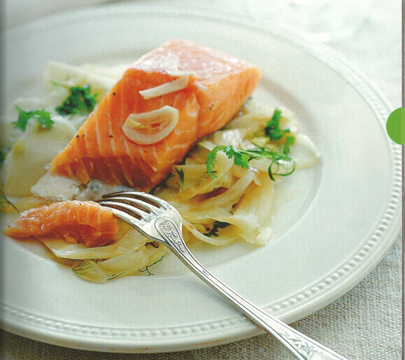 filets de saumon au fenouil