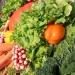 les légumes dans l'alimentation