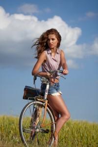Le vélo est excellent pour garder la forme