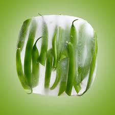 les légumes surgelés